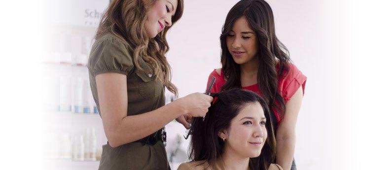 Beau Monde student learning while taking the Cosmetology Instructor Training Program