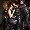 Sasha Zoghi, Sebastian Top Artist, working on an alternative hairstyle for a model